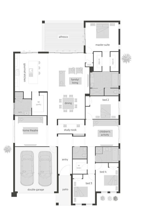 oasis two floor plan by mcdonald jones exclusive to