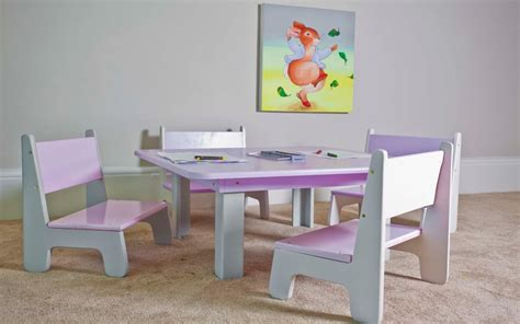 toddler play table and chairs with casters toddler play