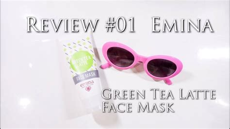 Ready Emina Green Tea Latte Mask Review 01 Emina Green Tea Latte Mask