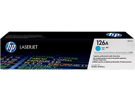Toner Printer Hp Laserjet 126a Magenta hp 126a originele cyaan laserjet tonercartridge prijzen tweakers