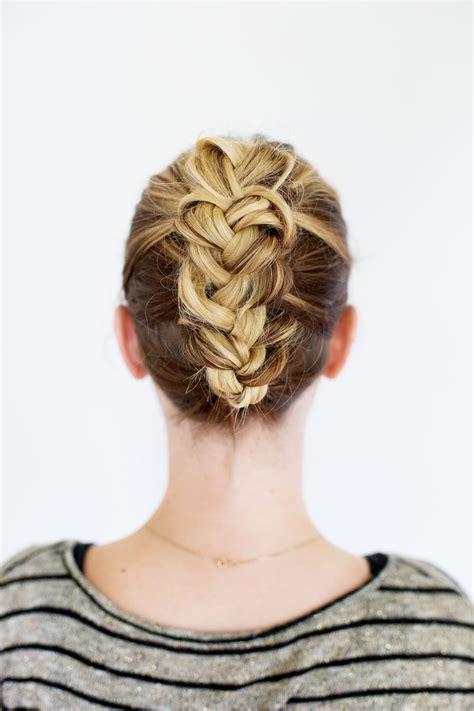 how to put thick braids in a bun 30 wedding hairstyles for medium hair