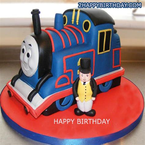 Make Your Own Funny Christmas Cards - thomas the train birthday cake for kids with name 2happybirthday