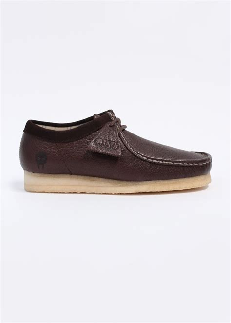 wallabee shoes clarks originals wallabee x doom shoes brown leather