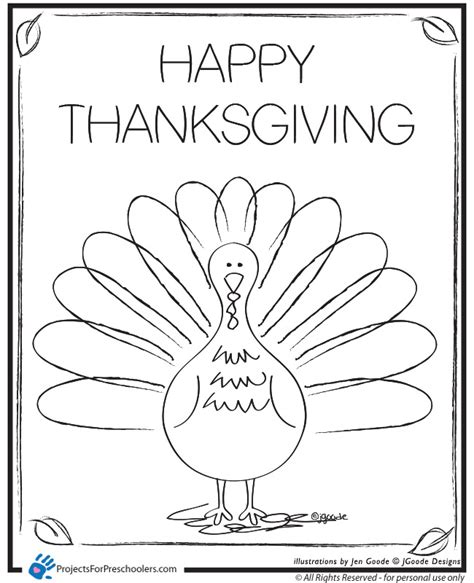 thanksgiving coloring pages printable 4 best images of happy thanksgiving turkey coloring page