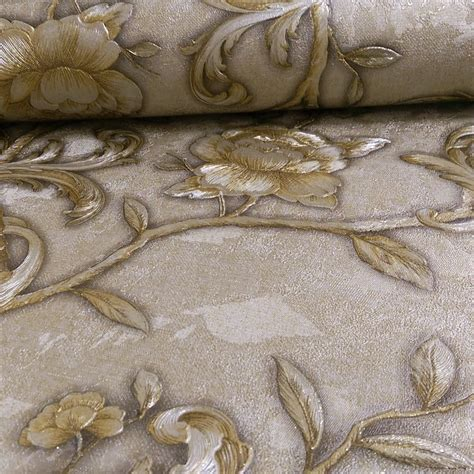 glitter vintage wallpaper arthouse angelica rose pattern floral glitter vinyl