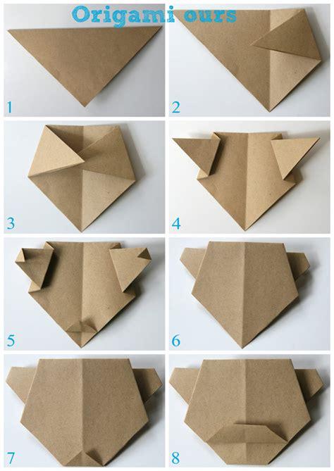 Origami L - origami l ours et le panda cabane 224 id 233 es