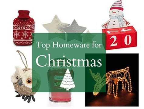 top homeware for christmas from asda