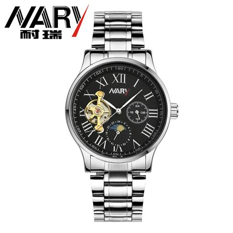 Jam Gc Stainless Steel nary jam tangan mechanical stainless steel 18024