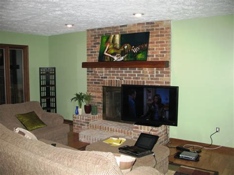 Can I Mount A Tv Above A Fireplace by Corner Tv Mount Ideas Ask Home Design