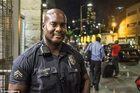 Lapd Background Check Lapd Officer Deon Jospeh Made One Of America S Worst Areas Skid Row Safer And
