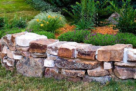 rock wall garden wall hardscaping boulder co