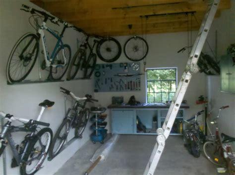 fahrräder platzsparend aufbewahren meine kellerwerkstatt