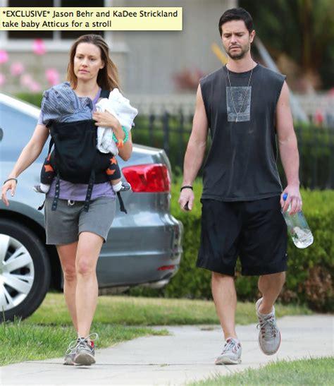 Kadee Strickland and Jason Behr out around Los Feliz with ... Kadee Strickland Pregnant