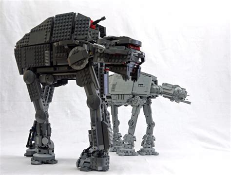 Lego Wars Starwars Brick wars the last jedi lego build enter the at at