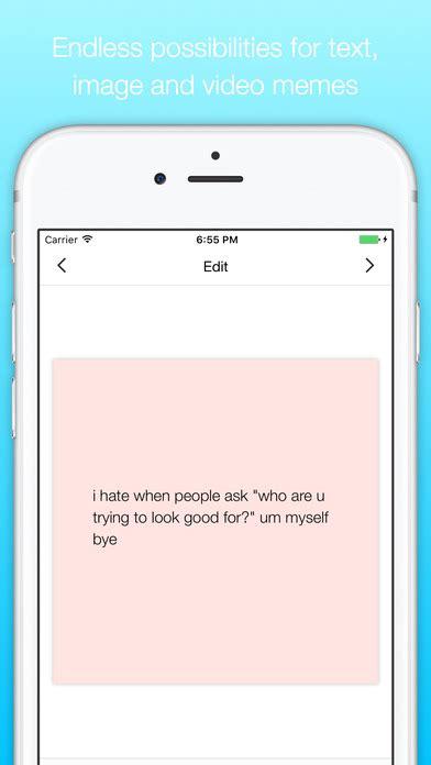 Meme Creator App Iphone - app shopper memely meme maker lifestyle