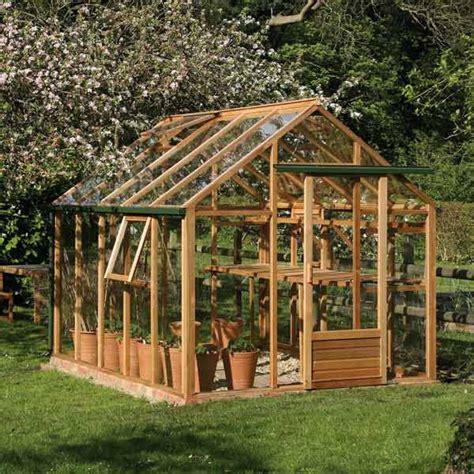 serre de jardin en bois serre classic 7 2m 178 en bois et verre tremp 233 juliana