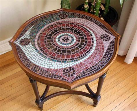 Mosaic Patio Table Make Own Mosaic Patio Table House Photos