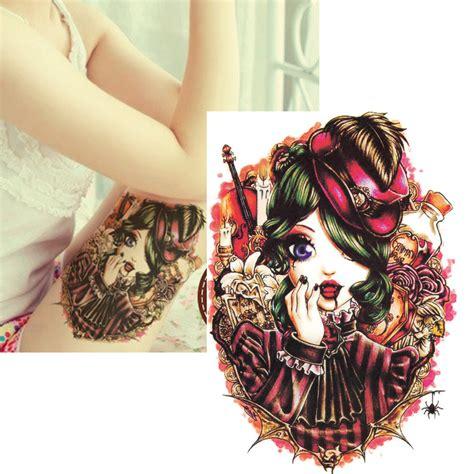 tattoo air mata tato palsu vir gadis mata besar boneka stiker tato