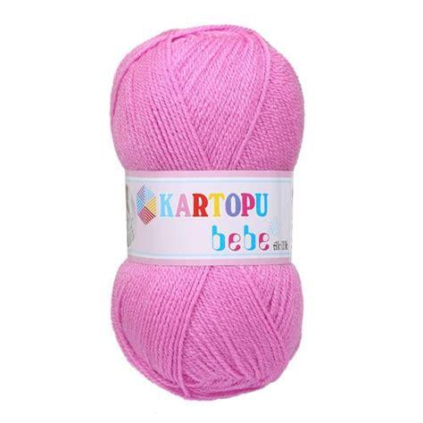Paket Baby Pink kartopu 5 skeins bebe baby knitting yarn pink k807 hobiumyarns