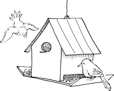 Coloring Page Bird Feeder | how to make bird feeders bird feeders coloring pages