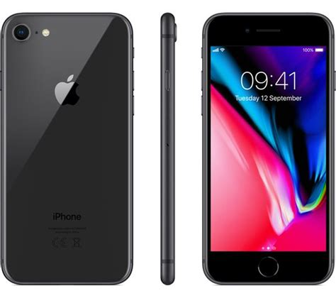 buy apple iphone 8 256 gb space grey free delivery currys