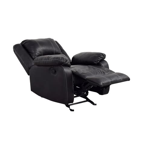 black leather recliner 66 acme acme black leather recliner chairs