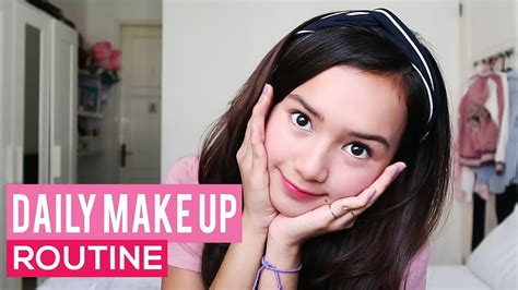 tutorial makeup prilly beby tsabina my daily make up routine video phim22 com