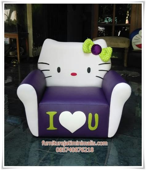 Kursi Sofa Anak Hello sofa anak lucu sofa anak lucu murah sofa anak karakter