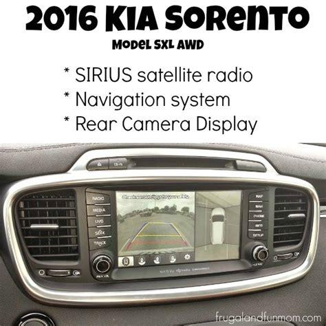 Kia Satellite Radio 2016 Kia Sorento Model Sxl Awd Review Kiadrivefl