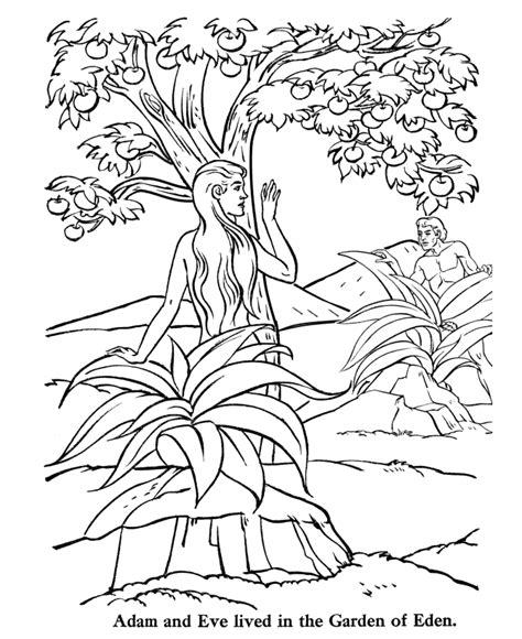 garden of eden printable activity sheets adam and eve coloring pages for kids az coloring pages