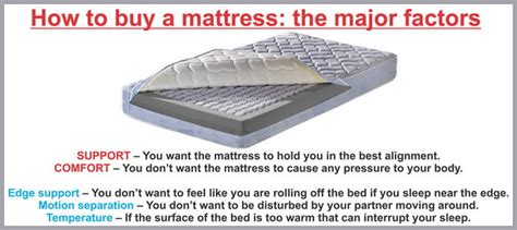 what to look for when buying a mattress best types of mattresses and where to purchase for less