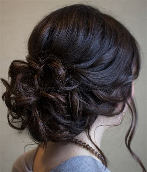 Wedding Hairstyles Low Updo by Low Bun Wedding Hairstyles Wedding Updo Hairstyles For
