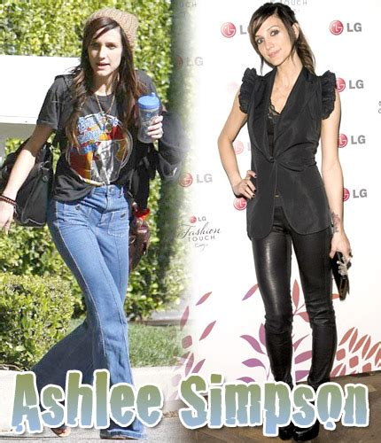 Ashlee Simpsons Ysl Tribute Tote by セレブ最新画像 ニコールリッチー リンジーローハン ケイトモスetc 2010年05月