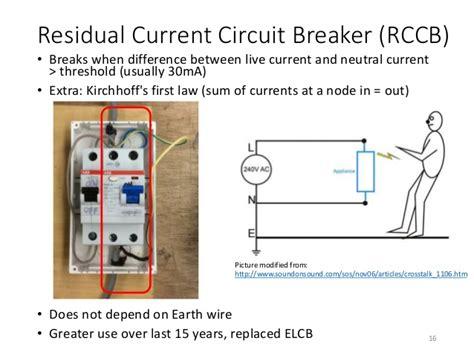 100 connection diagram of rccb rcbo residual