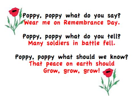 remembrance day activities grade onederful