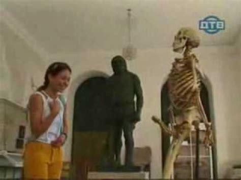 funniest candid skeleton in museum