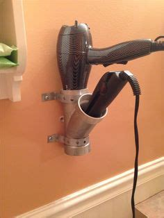 Pvc Pipe Diy Hair Dryer Holder 1000 images about bathroom decor ideas on