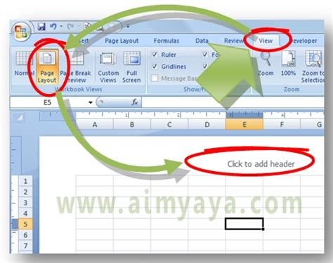 cara membuat logo watermark di foto cara print gambar background ms excel cara aimyaya