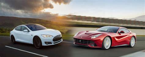 Tesla F Tesla Model S Vs F12 Berlinetta Stats