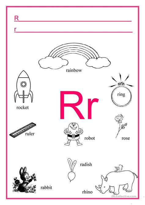 kindergarten activities with the letter r common worksheets 187 letter r worksheet preschool and