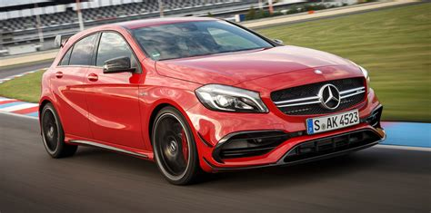 mercedes a class 45 amg 2016 mercedes a class amg a45 pricing and
