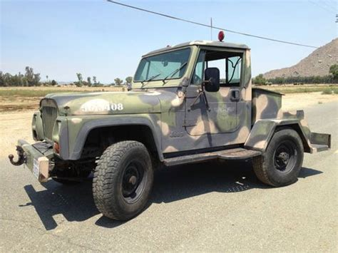 Jeep Cj10 For Sale Sell Used 1985 U S Government Flightline Tow Tractor Jeep