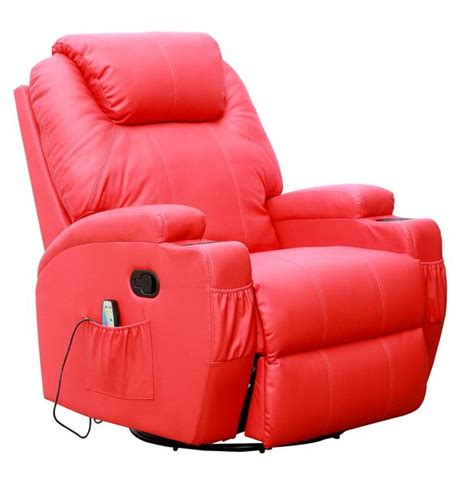 red leather swivel recliner chair kidzmotion red leather recliner gaming chair rocking