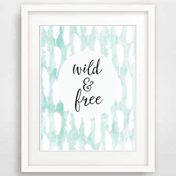 free printable wall art 8x10 8x10 wild and free printable nursery art from