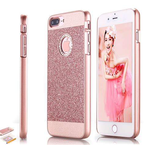 for apple iphone 7 plus bling cover gold ebay