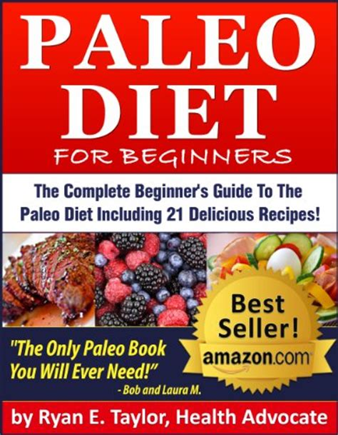discover the book paleo diet for beginners the
