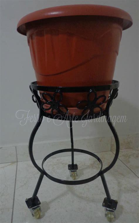 porta vasi porta vasi in ferro porta vasi fioriere con legna