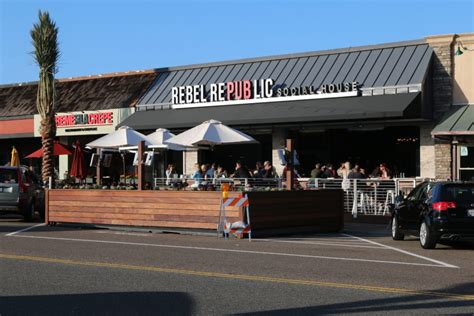 republic social house dining decks gateway to pedestrian friendly riviera village