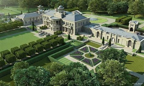 Seaside House Plans by British Property Developer To Build Surrey Mansions In The