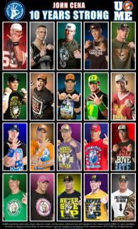 evolution of john cena wwe pinterest john cena and